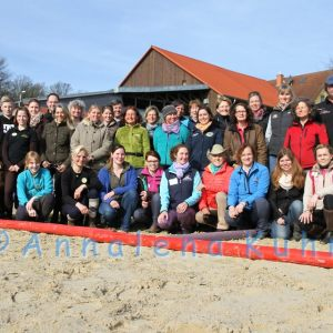 Trainingstage mit Linda Tellington- Jones in St. Katharinen, April 2015