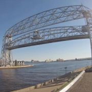Kiyi Research Vessel Leaving Duluth Harbor 5-28-2014