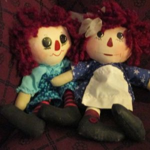 Some of my Prim Folk Art Doll