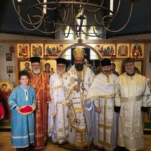 Metropolitan Silouan Ordains Fr Deacon Paulinus to the Priesthood at Louth on 27th November 2016