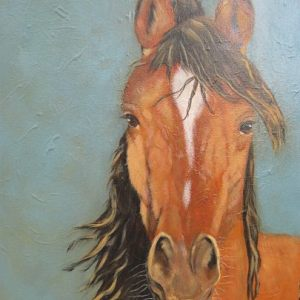 Patti Rosner Paintings:  Horses
