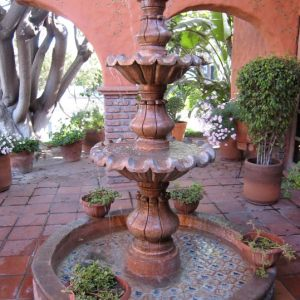 patios, Fountains, and Pools