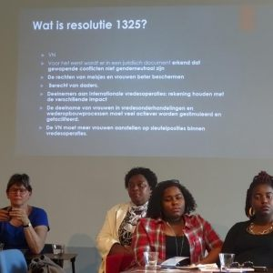 Discussie R 1325 in de DRC