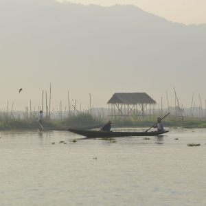 A PAINTING LIKE INLE LAKE
