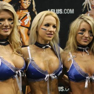 2010 Lingerie Bowl Media Day at the Seminole Hard Rock in Florida