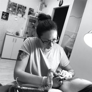Tattoo Artist Veronika