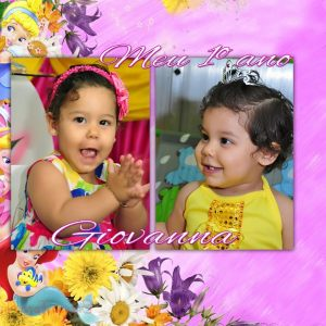ALBUM GIOVANNA 1 ANO