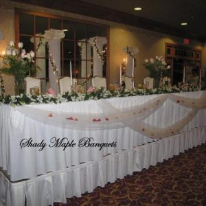 Shady Maple Banquets Weddings