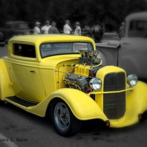 Hand Painted ~ Hot Rods