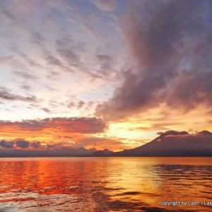 12 Views of Toliman Volcano at Lake Atitlan - Guatemala