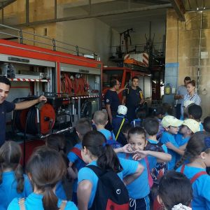 Visit to Wasteserv and Fire Station