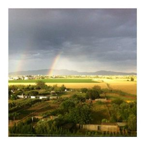Figueres under the rainbow
