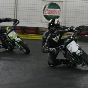 Pitbike Indoor Training 3. Februar 2019