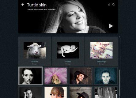 Photo Album Skin Turtle - jAlbum